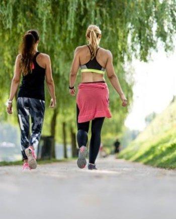 المشي السريع، عناية فعالة لتنحيف الجسم وتحسين الهيئة