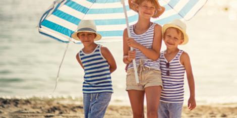 Soleil: vos enfants sous haute protection