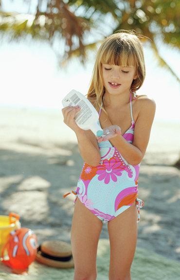 Bien protéger les enfants du soleil